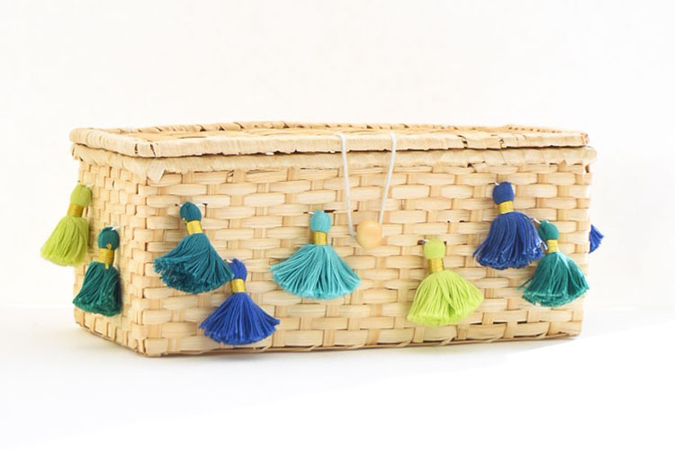 DIY Global Style Tassel Box