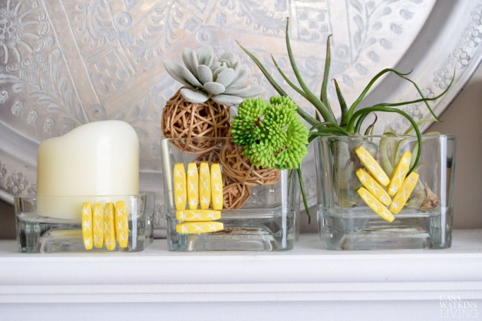 DIY vase makeover with beads for stylish global home accessories. Video tutorial included