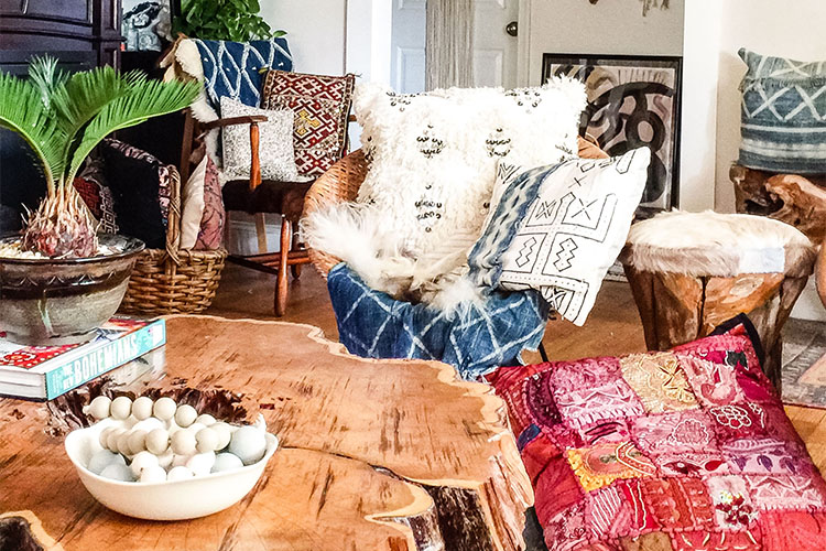 Casual Global Bohemian Home Tour