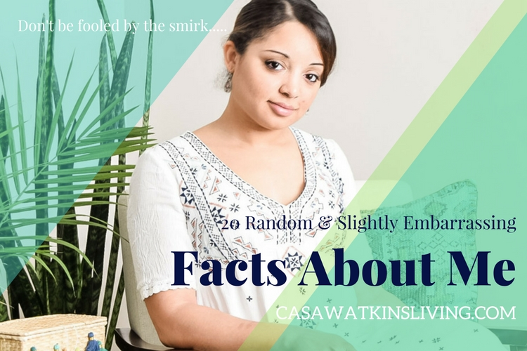 20 Random and Slightly Embarrassing Facts About Me!