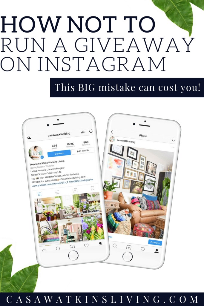 This Mistake on Your Instagram Giveaway Could Cost You