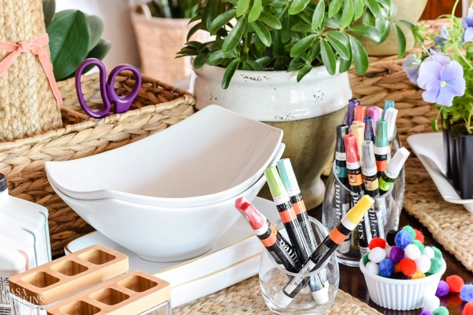 how to host a craft party for Mother's day. DIY gift ideas