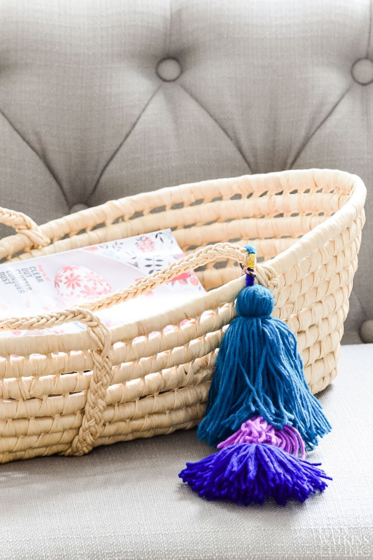 ideas to repurpose moses basket after baby