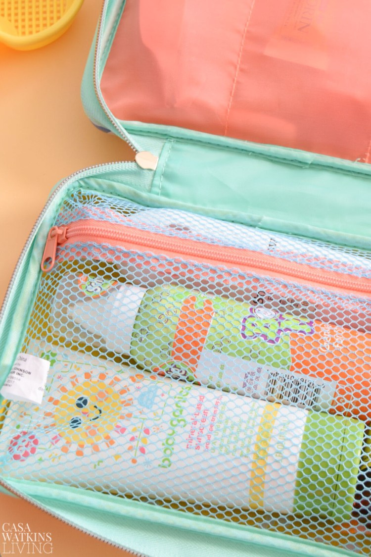how to pack family medical kit for vacation printable checklist