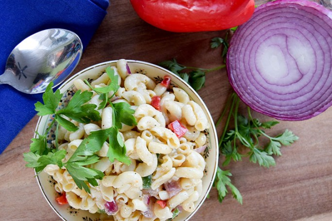 Easy Pasta Salad With Olive Oil