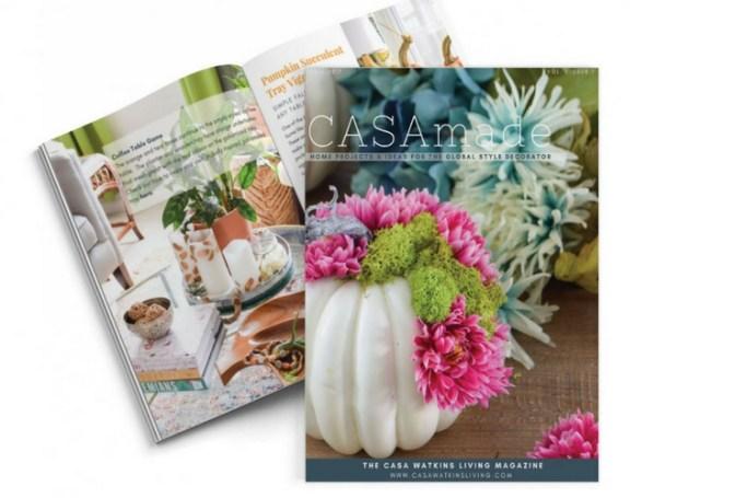 casamade magazine for subscribers of Casa Watkins Living