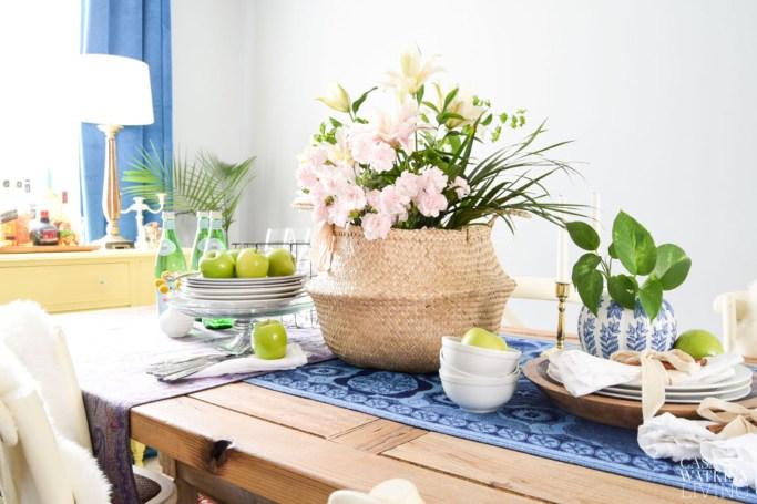 Fall Boho Chic Dining Room