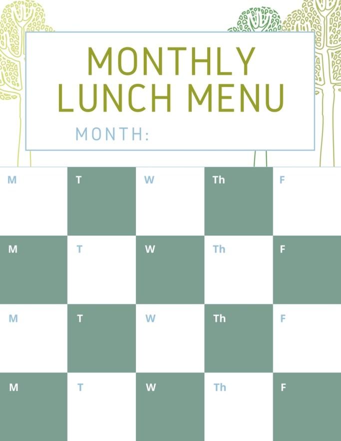 lunch planner