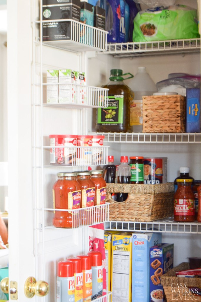 quick pantry makeover reveal