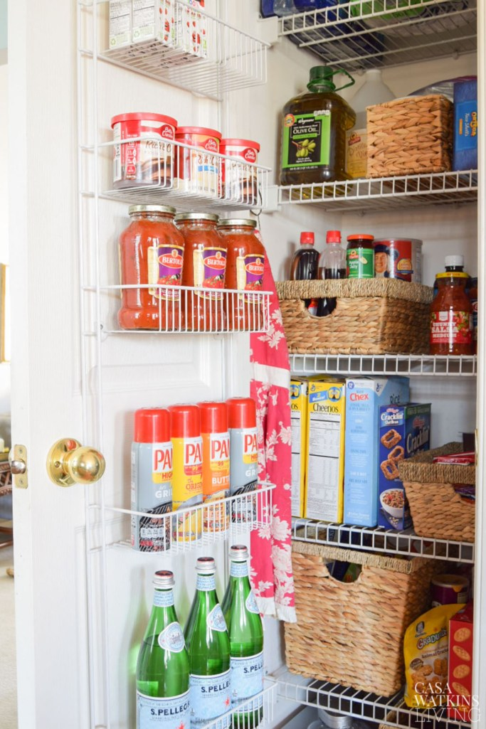 kitchen pantry makeover with organization tips