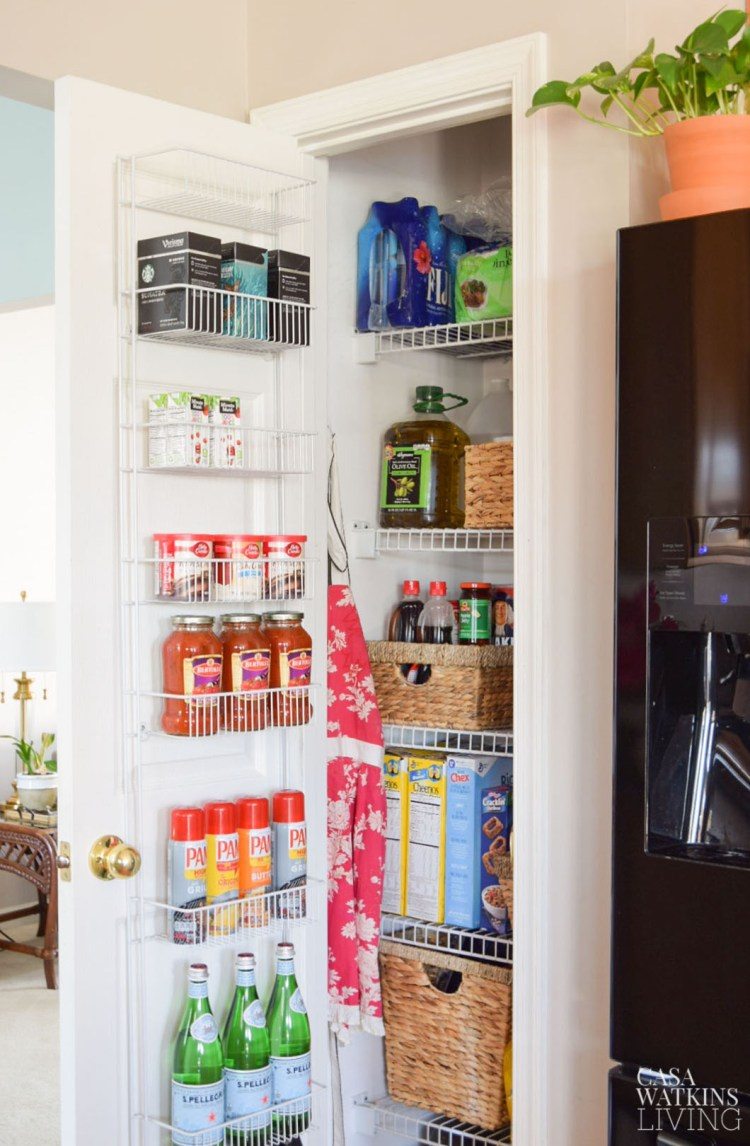 pantry makeover and organization ideas