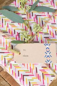DIY Tribal gift tags