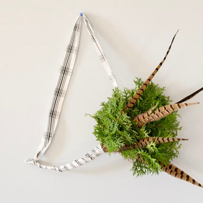Simple Evergreen Scandinavian Wreath