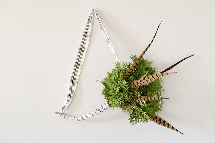 Simple Evergreen Scandinavian Wreath