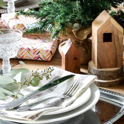 Global Bohemian Winter Dining Room