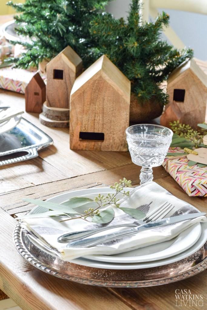 simple bohemian winter dining room decorating ideas