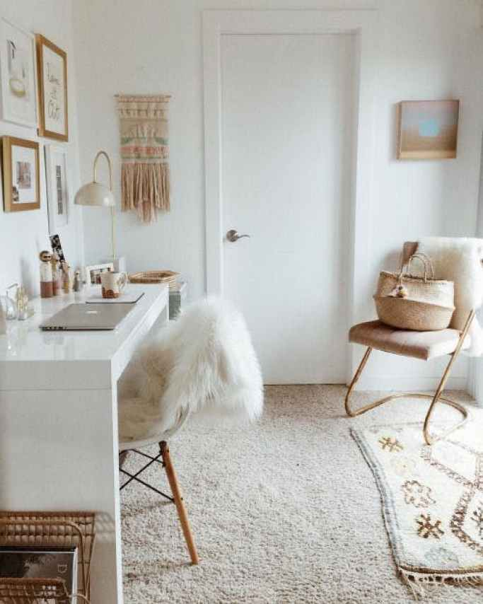 Apartment Therapy neural bohemian room