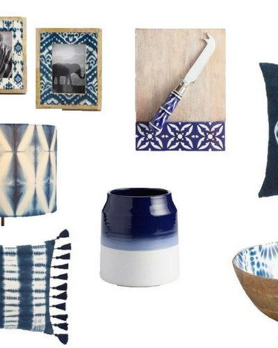 The Winter Blues… Decorating with Indigo