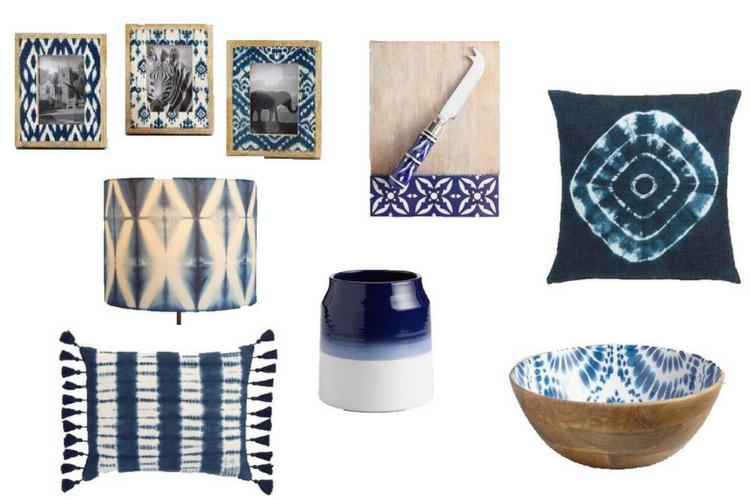 The Winter Blues… Decorating with Indigo