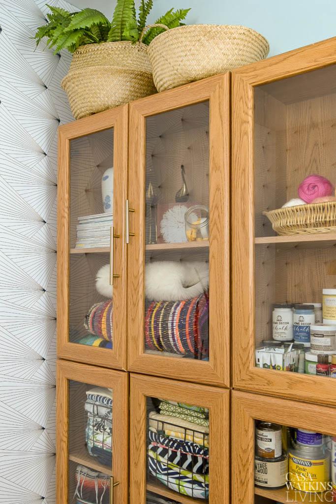simple craft cabinet upgrade