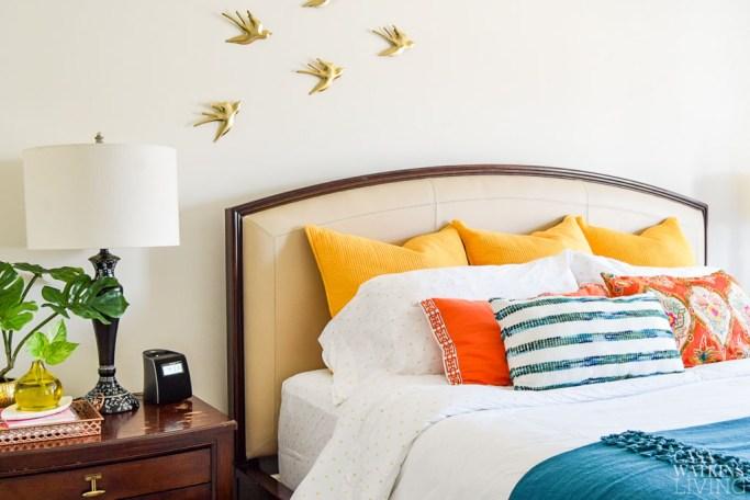 How To Arrange King Size Bed Pillows Casa Watkins Living