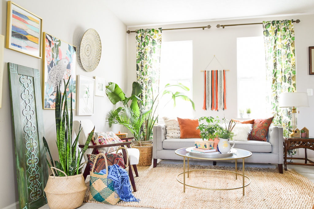 Ideas For Decorating Bohemian Living Room For Summer