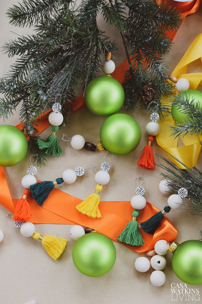 How To Make Global Bohemian Tassel Ornaments Casa Watkins Living
