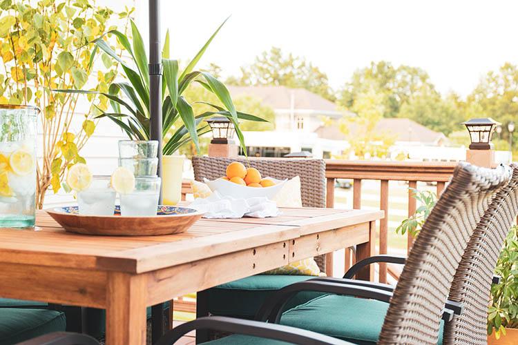 Bohemian Outdoor Decorating Ideas For Small Decks - Casa ...