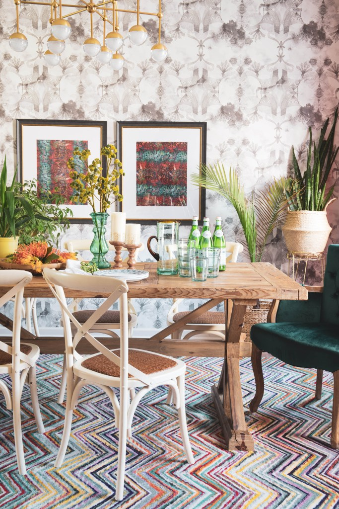 Modern Bohemian Summer Decorating For The Dining Room - Casa ...