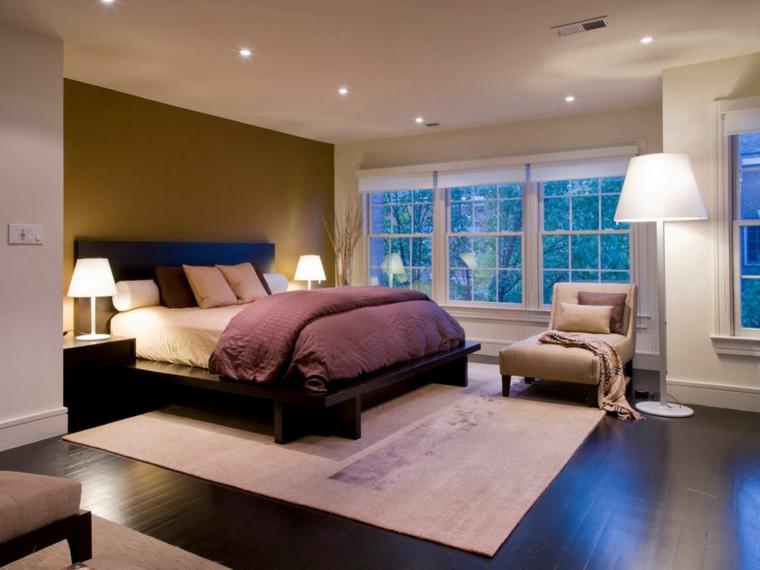 iluminación led cuarto relax lamparas cama
