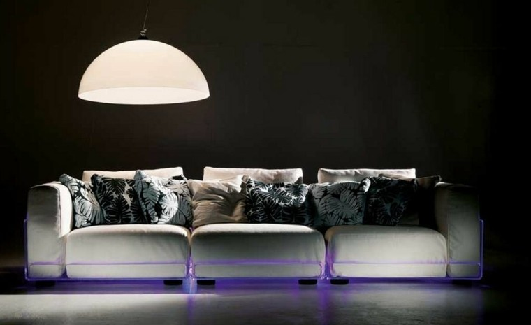 moderno led decoracion lampara sofa