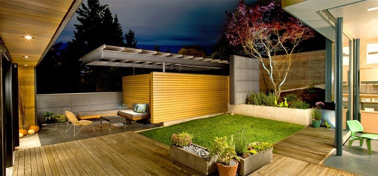 Outdoor Small Garden Designs
