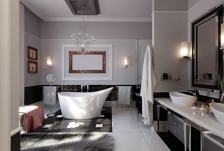 cuarto baño diseño estilo lujoso