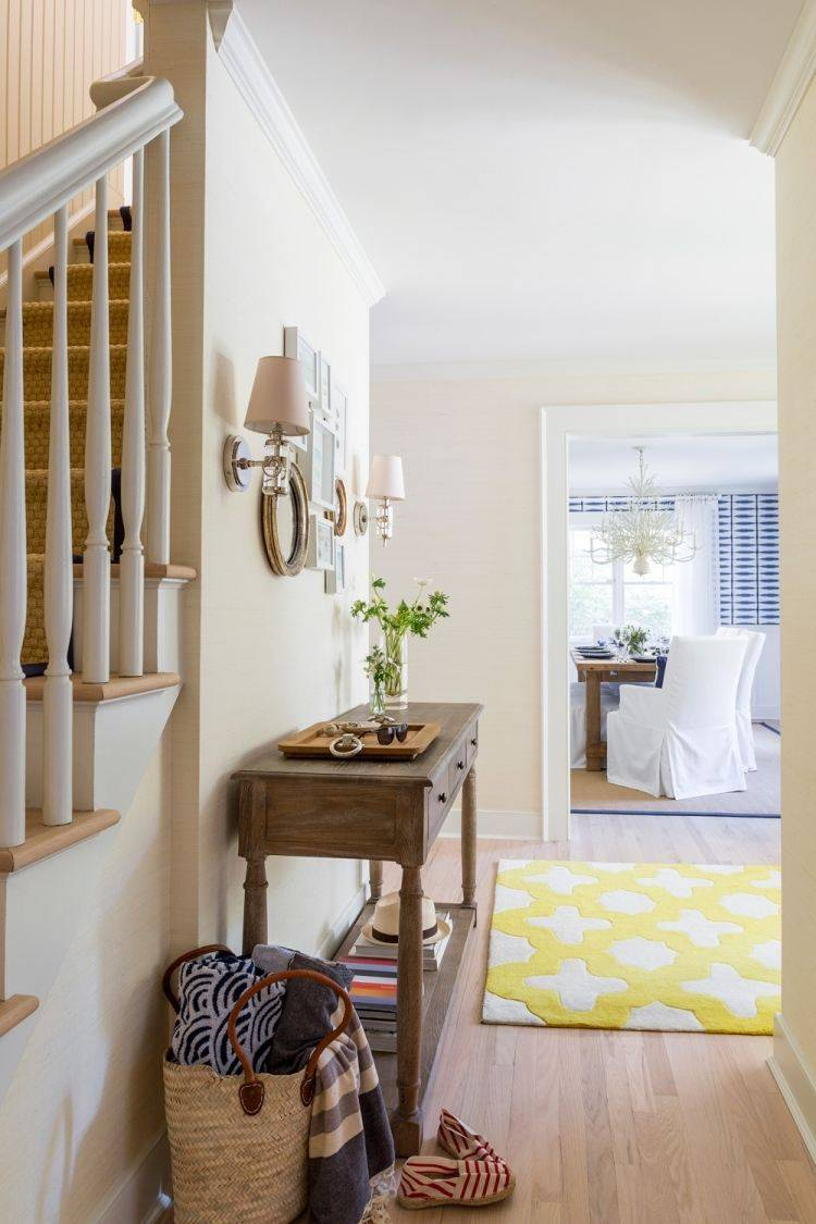 Recibidores Decorados Con Muebles Desgastados 25 Ideas