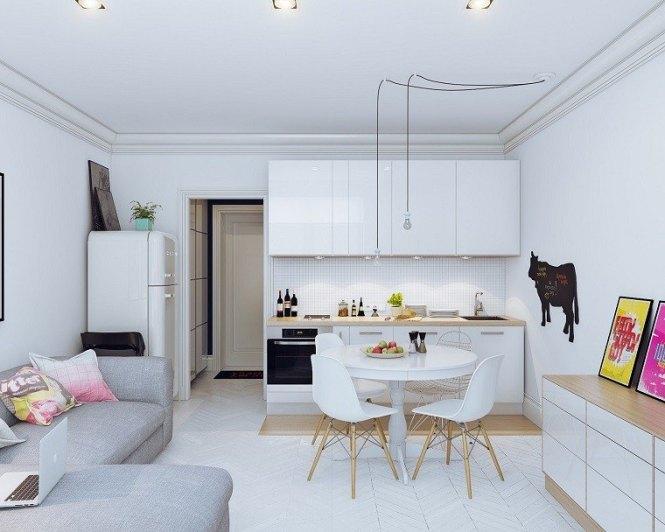 Ideas Para Decorar Sala Comedor Y Cocina Juntos - Decorating Ideas