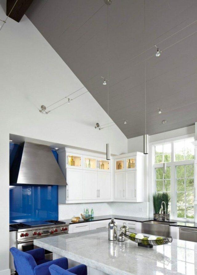 aydınlatma fikirleri mermer mutfak stilleri