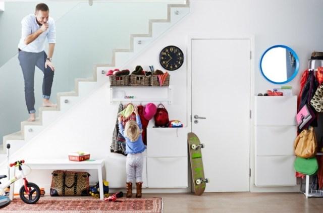 entrada recibidor decoracion juguetes