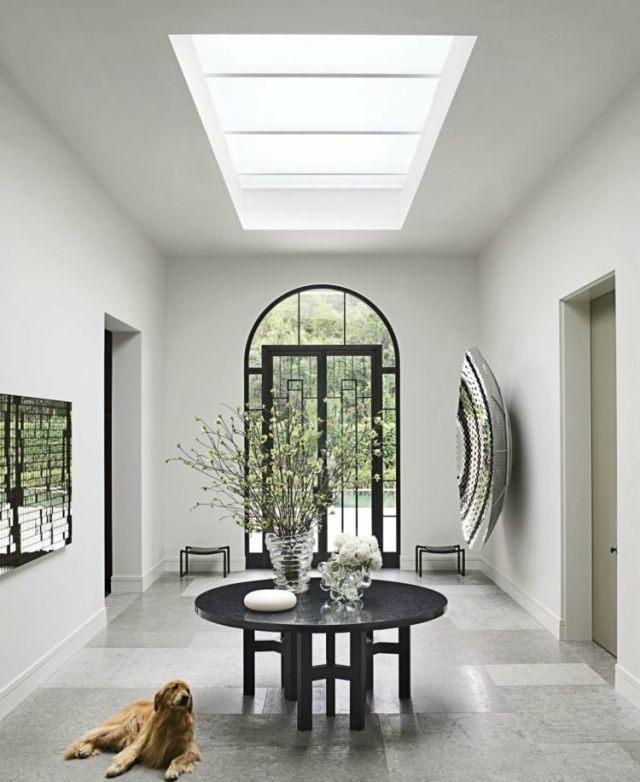 entrada lujosa diseño moderno