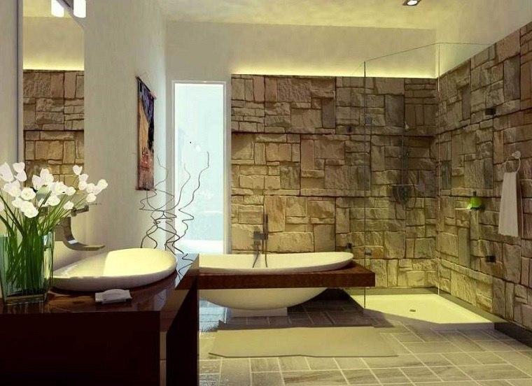 Muebles De Baño Modernos De Estilo Rústico