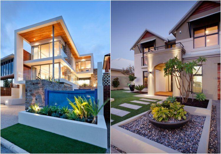 Fachadas De Casas Pequenas Con Jardin Al Frente Novocom Top