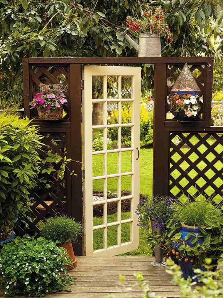 puertas de jardin arcos verjas