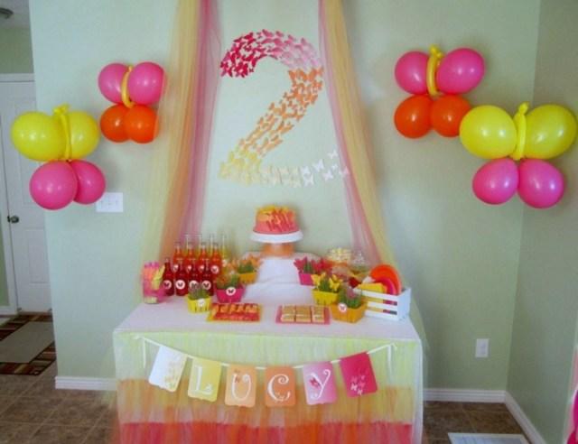decorar fiesta tonos calidos bonitos
