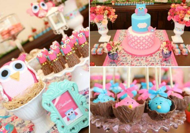 originales pasteles colores fiesta cumple