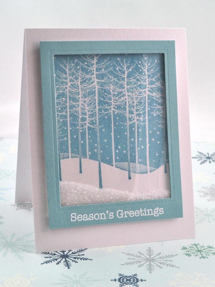 Tarjetas De Navidad Originales Que Puedes Hacer En Casa