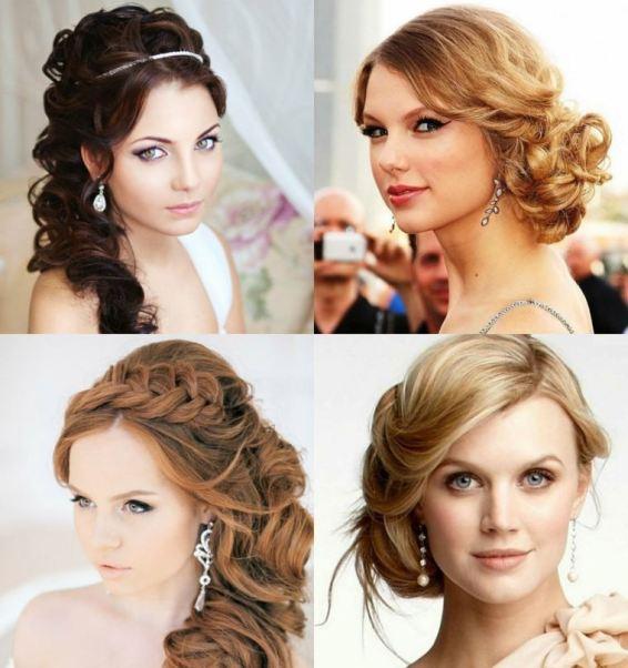 Peinados De Fiesta Semirecogidos Hacia Un Lado