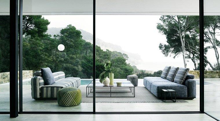 muebles de exterior- diseno-B-B-Italia-estilo