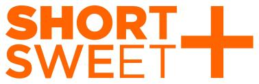 Short and Sweet theatre festival logo