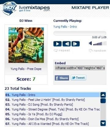 DJ Winn › Yung Pallo – Free Dope | Hip Hop Encounter