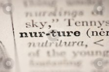 cutcaster-photo-100884540-word-nurture