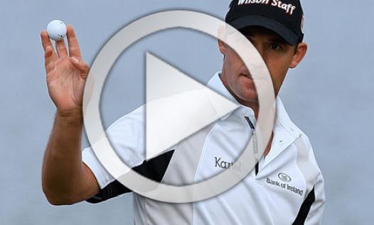 Padraig Harrington golf swing
